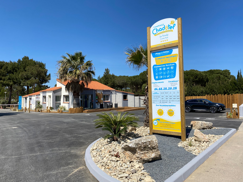 Accueil Campings Chadotel Le Trivoly - Torreilles Plages (1)