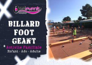 BILLARD FOOT