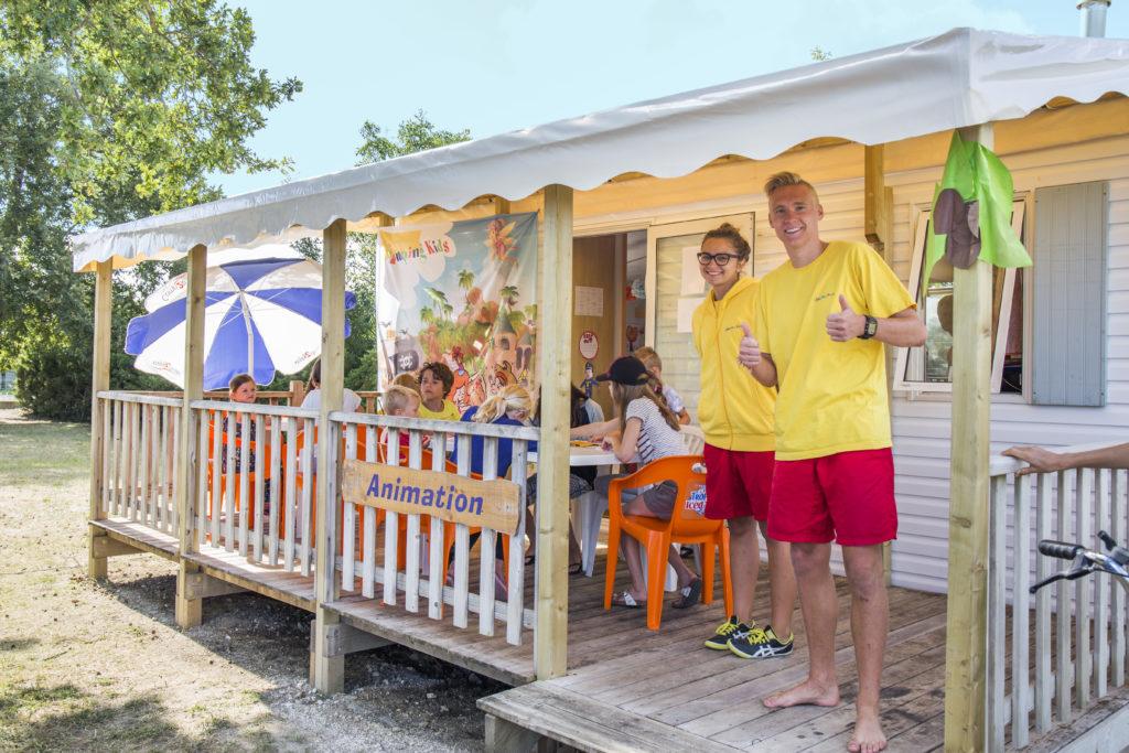 camping familial sur la côte Atlantique