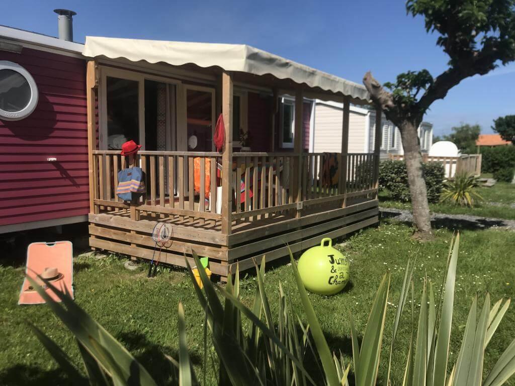 location mobil home camping proche de l'Espagne