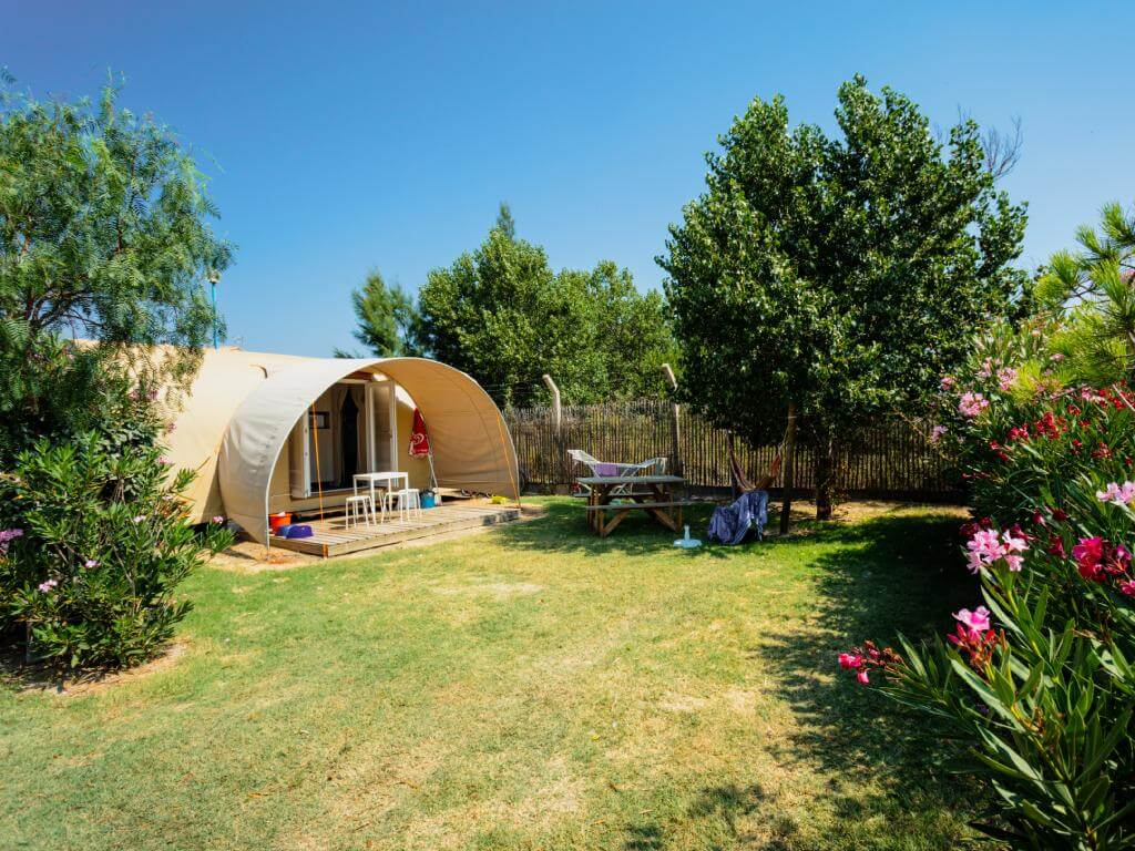 camping nature et familial proche Aqualand