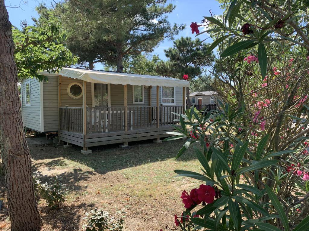 mobil home familial camping Vendée