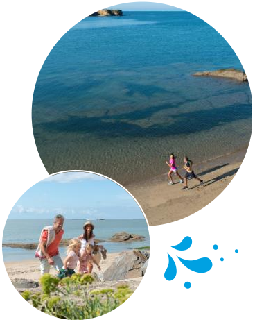 Balade en bord de mer en Bretagne Sud
