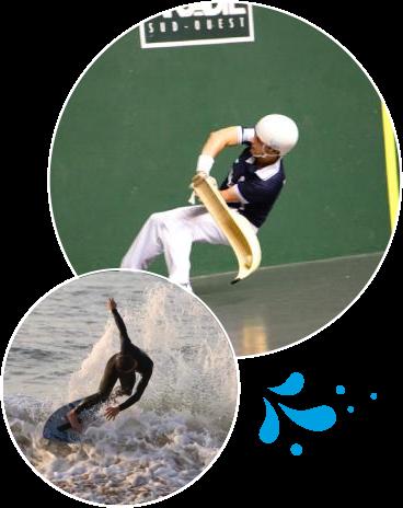 Activités sportives en Pays Basque