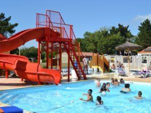 camping espace aquatique Vendée
