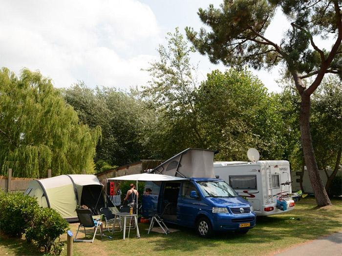 campings avec emplacements et sanitaires chauffés