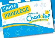 carte membre privilège Chadotel
