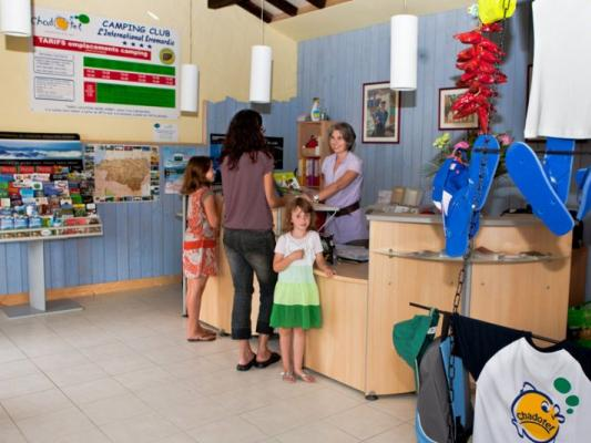 chadotel réception camping