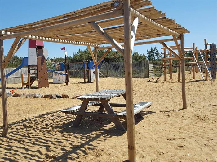 location avec emplacements pour les camping-caristes